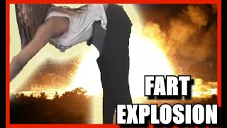 Gassy Girl Fart Bloopers and Farting Compilation