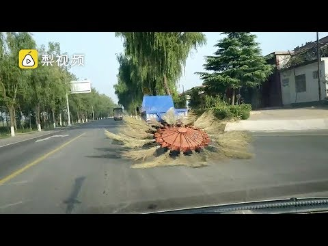 Take a look at this incredible street cleaning truck