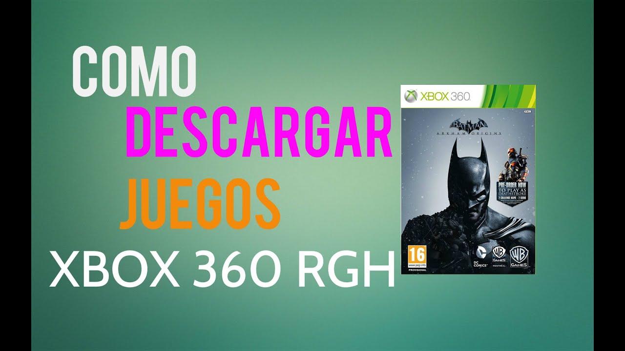 Como Descargar E Instalar Juegos Para Xbox 360 Rgh Tutorial