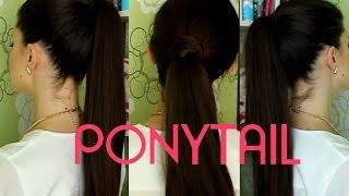 3 ПРОСТЫХ СПОСОБА как сделать МОДНЫЙ ХВОСТ / Easy ponytails hair tutorial(ВАЖНО!✰ Делаем актуальный КОНСКИЙ ХВОСТ в нескольких вариантах! Моя новая публикация