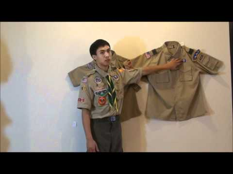 Sexy boy scout uniforms