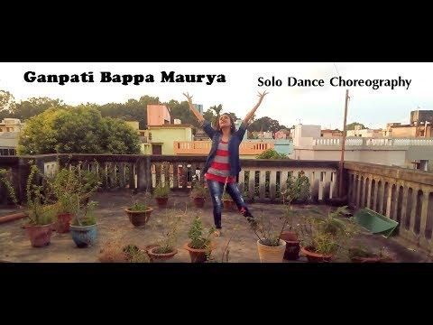 Ganpati Bappa Maurya - ABCD | Shambhu Sutaya | Solo Dance Choreography | Ankita Ghosh