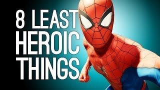 Spider-Man PS4: 8 Least Heroic Things You Can Do in Marvel
