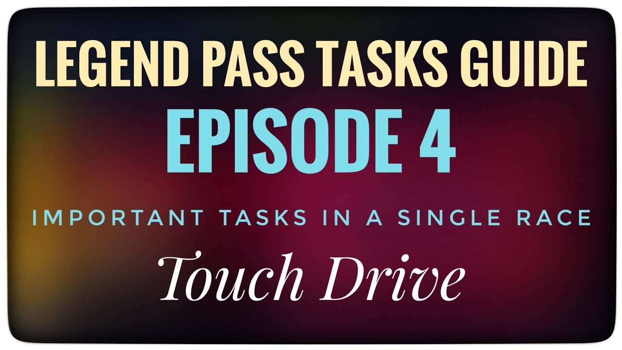 Download Asphalt 9 | Touch Drive | Legend Pass Missions | All Tasks | Episode 4 | Heat Wave Season Tasks