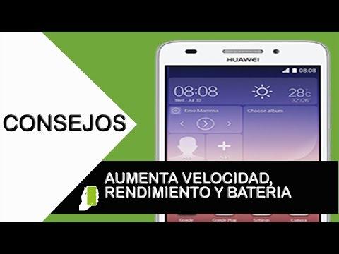Huawei G620 Tips trucos para android (aumenta velocidad, rendimiento y bateria)