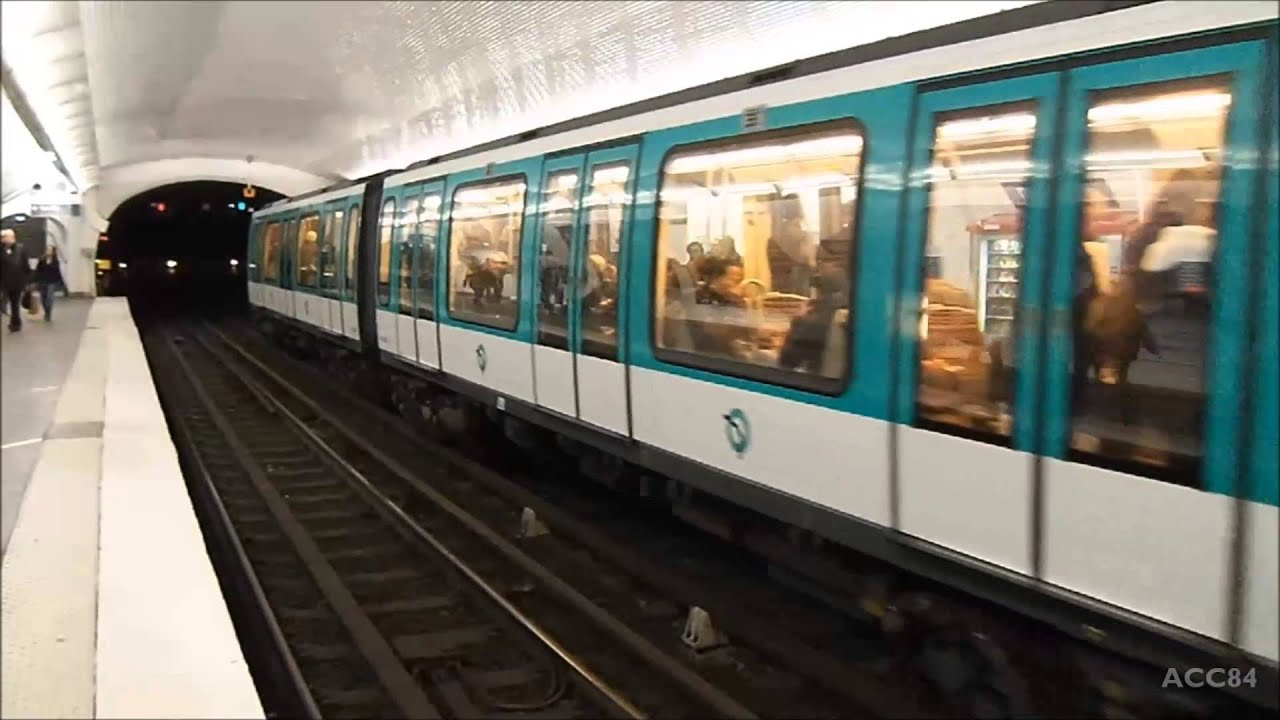 bastille ligne 5 m tro de paris ratp mf01 youtube. Black Bedroom Furniture Sets. Home Design Ideas