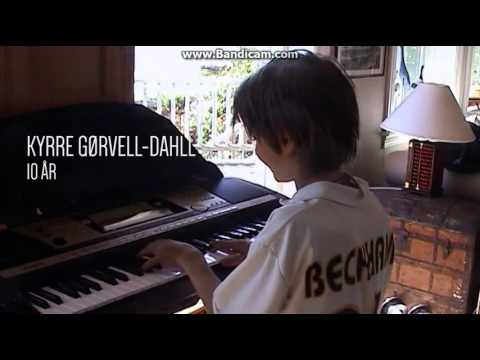 KYGO - 10 years old playing piano