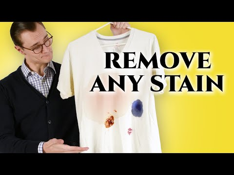 How to Remove Stains From Clothes At Home Better Than The Dry Cleaner