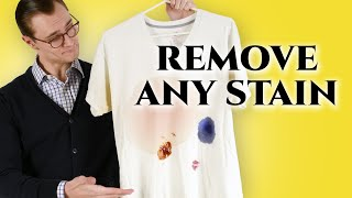Gambar cover How to Remove Stains From Clothes At Home Better Than The Dry Cleaner
