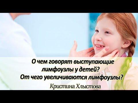 О чем говорят выступающие лимфоузлы у детей? От чего увеличиваются лимфоузлы?