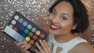bh cosmetics foil eyeshadow palette