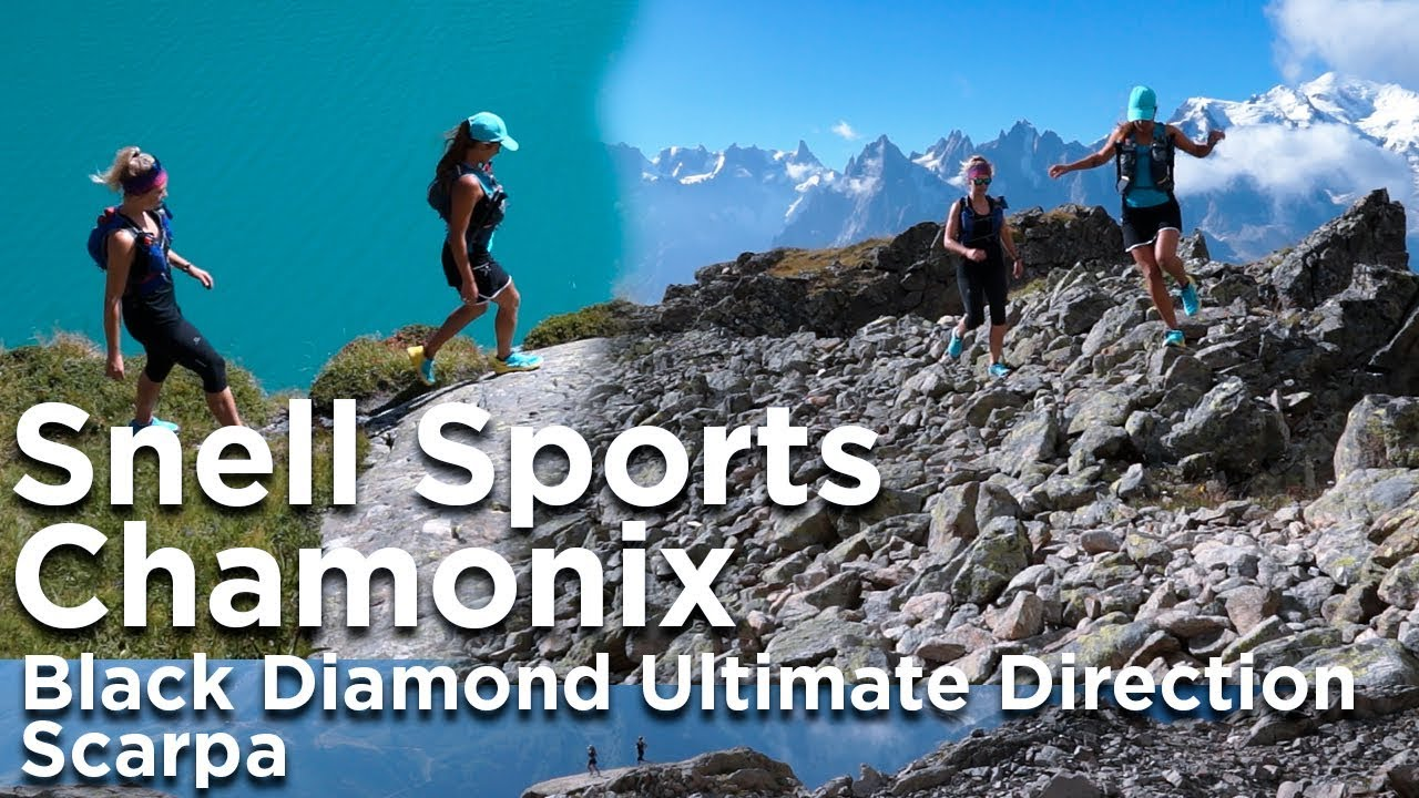 Snell Sports Ultimate Direction Scarpa Black Chamonix Diamond cgBqqI