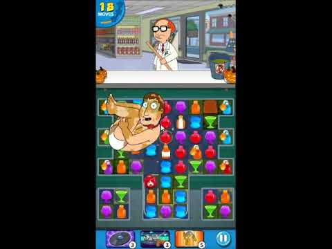 Family Guy Another Freakin Mobile Game Level 397 - NO BOOSTERS