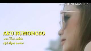 Lirik lagu Aku rumongso vivi voleta