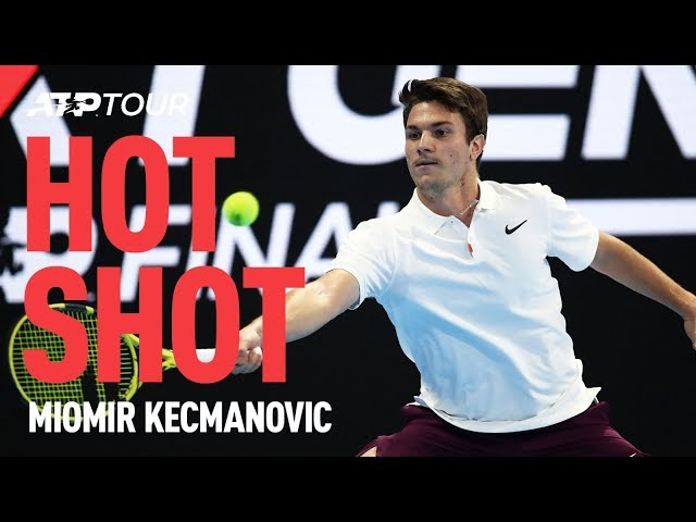 Kecmanovic Finishes Match In Style | Next Gen ATP Finals | ATP