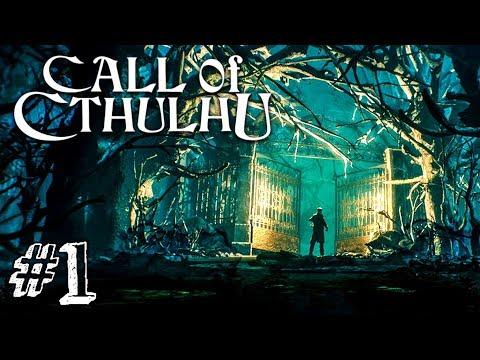 ДЕЛО САРЫ ХОКИНС! ► Call Of Cthulhu 2018 Прохождение #1 ► ХОРРОР ИГРА