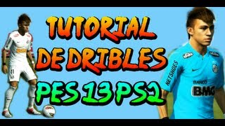 PES 2013 PS2 • tutorial de dribles