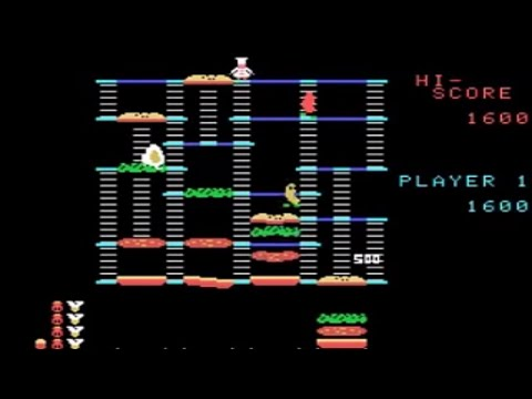 BurgerTime - ColecoVision (Coleco 1984)