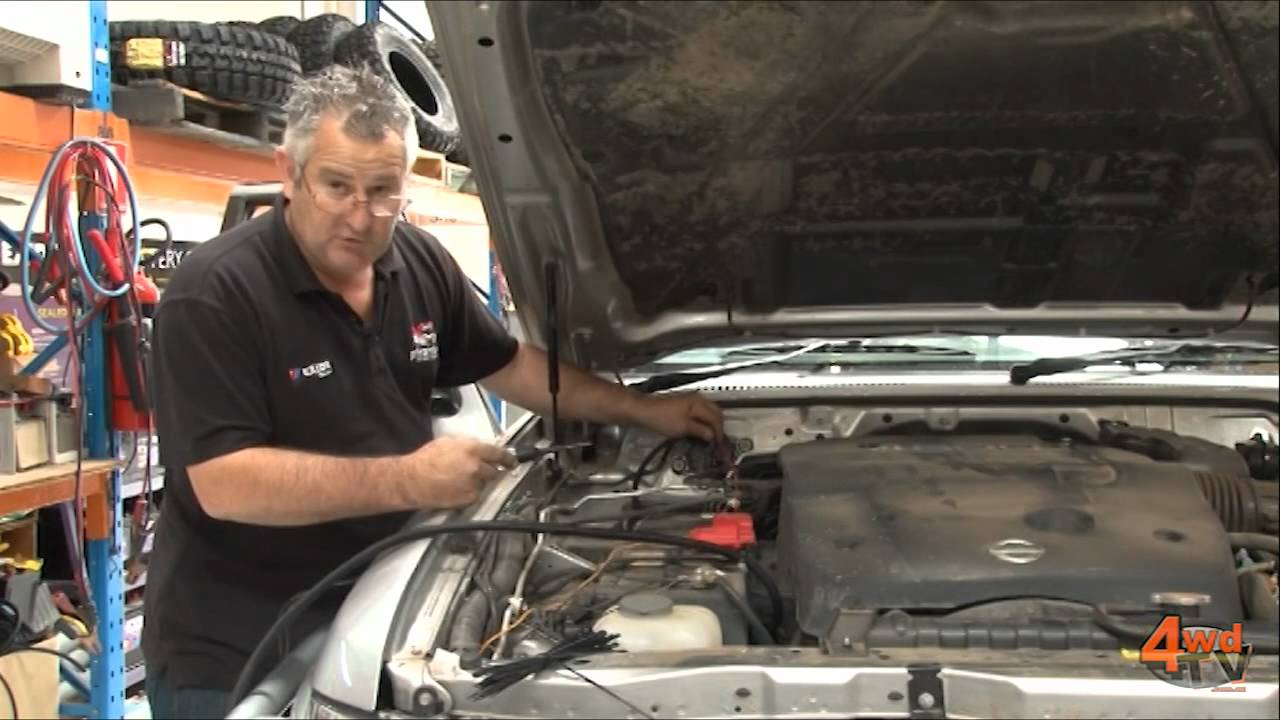 gu patrol dual battery system installation