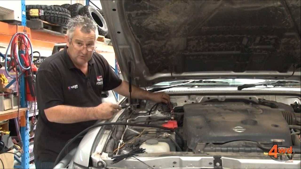 2014 Jeep Cherokee Wiring Diagram Gu Patrol Dual Battery System Installation Youtube