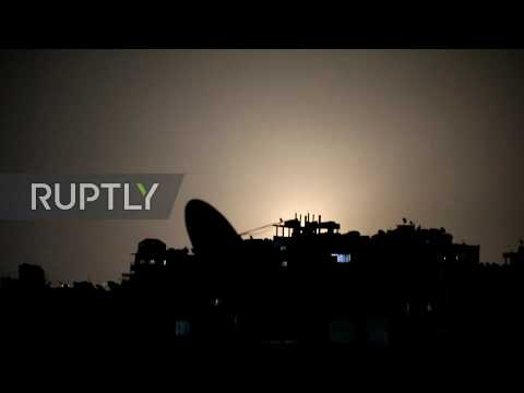 Syria: Air defences intercept missiles over Damascus – state TV