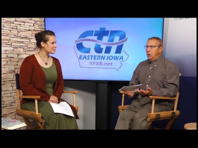 CTN Eastern Iowa TV Interview with Prophetic Artist Kathleen Roling