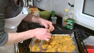 Kebab de pollo casero,chiken