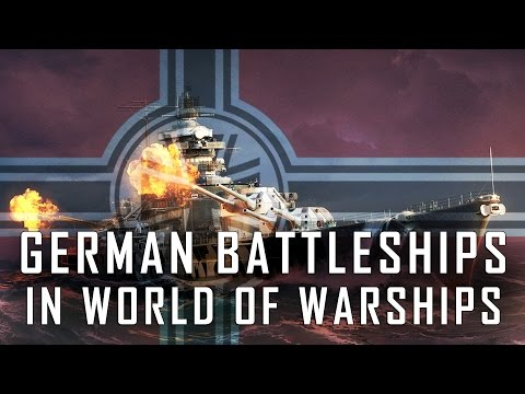 German Battleships in World of Warships - German Battleship Line Speculation