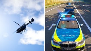 Autobahn Police Simulator 2 - Part 22 - Helicopter Pursuit (Finale)