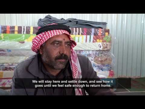 Jordan: First Syrian refugees move to Azraq Camp