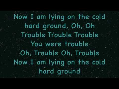 Taylor Swift-I Knew You Were Trouble-Lyrics On Screen(Male Version)-Midnight Red Cover