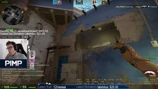 Pimp shows the perfect window smoke