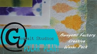 Awagami Creative Washi Pack Featuring Cynthia Weed