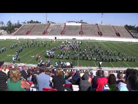 Camden County High School Marching Band - October 20, 2012