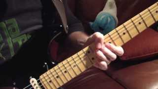 The Blue Guitar Solo David Gilmour Cover