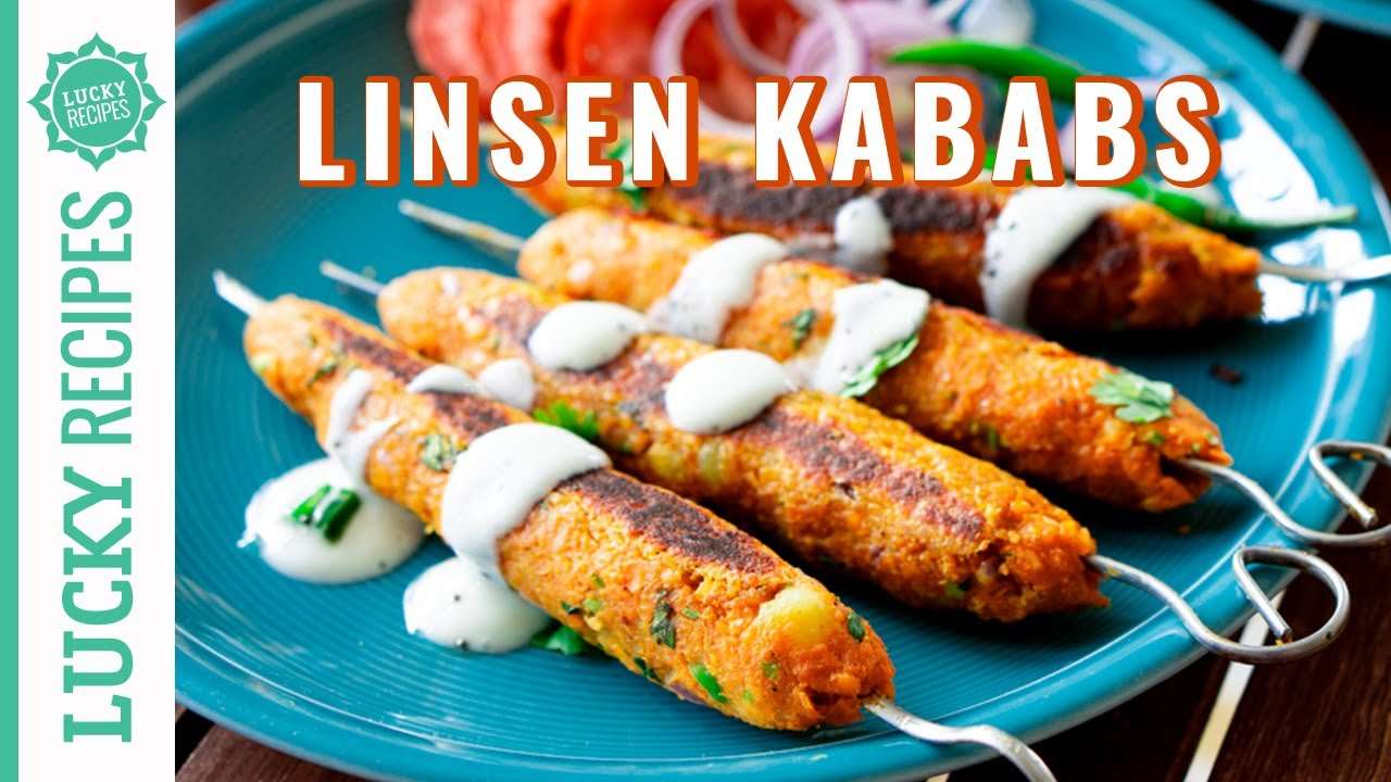 Veggie Linsen Spieße, die alle begeistern 🧡 | Gulnar Seekh Kabab