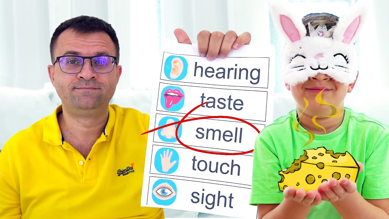 Roma and Diana Play Five Senses Challenge
