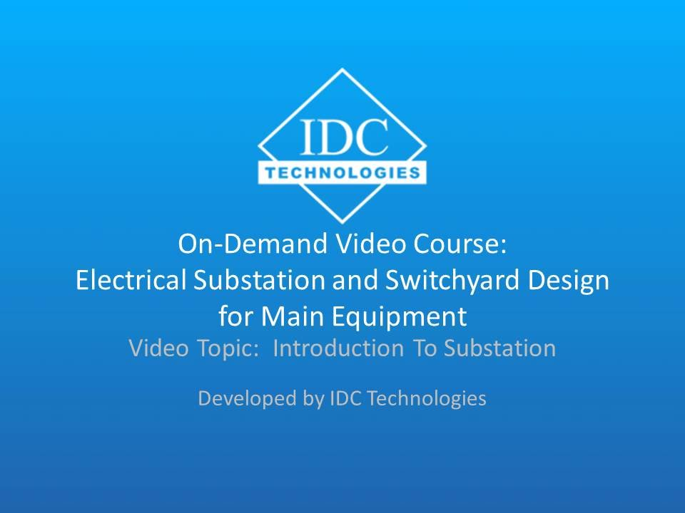 Introduction To Substation - On-Demand Video Course