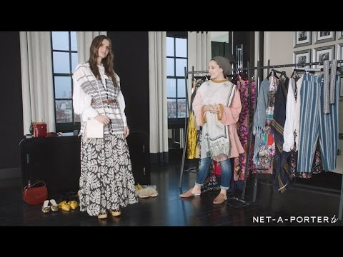 Demure dressing with Ascia :  Silk Story