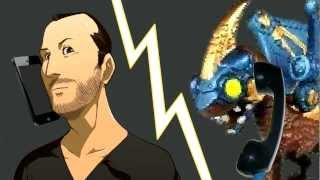 Giant Bombcast Animation - Drobot Callin'