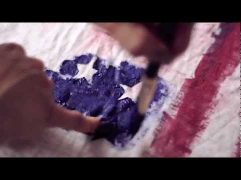 DIY American Flag Tank-top, Tee, Balmain Inspired Video Tutorial - DIY FASHION