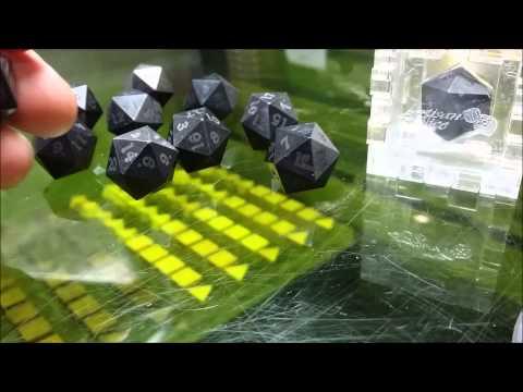 Solid Carbon Fiber Dice