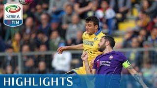 Frosinone - Fiorentina - 0-0 - Highlights - Matchday 30 - Serie A TIM 2015/16