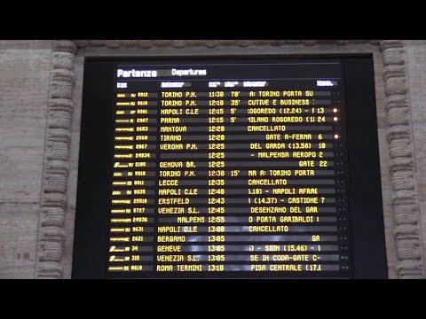 Treno deragliato a Lodi, caos a Milano Centrale: ritardi e cancellazioni per l'alta velocità