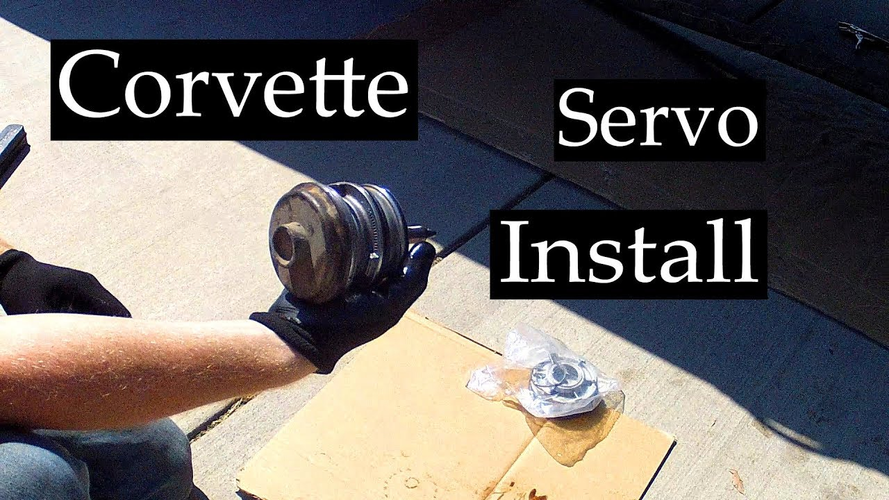 4L60E Corvette Servo Install