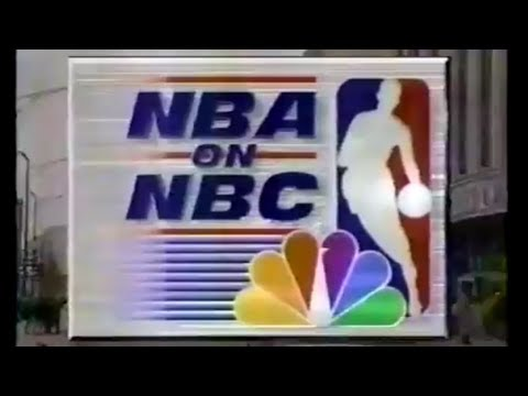 NBA on NBC Intro - Jazz vs Bulls - 1/25/98