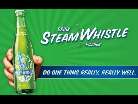 Beer review: Steam whistle - pilsner (Review #14)