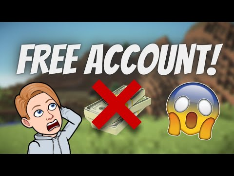 How To Get A FREE Java Minecraft Account!