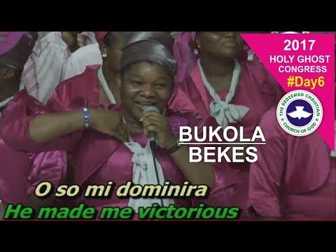 Bukola Bekes POWERFUL Ministration @ RCCG 2017 HOLY GHOST CONGRESS_ #Day6