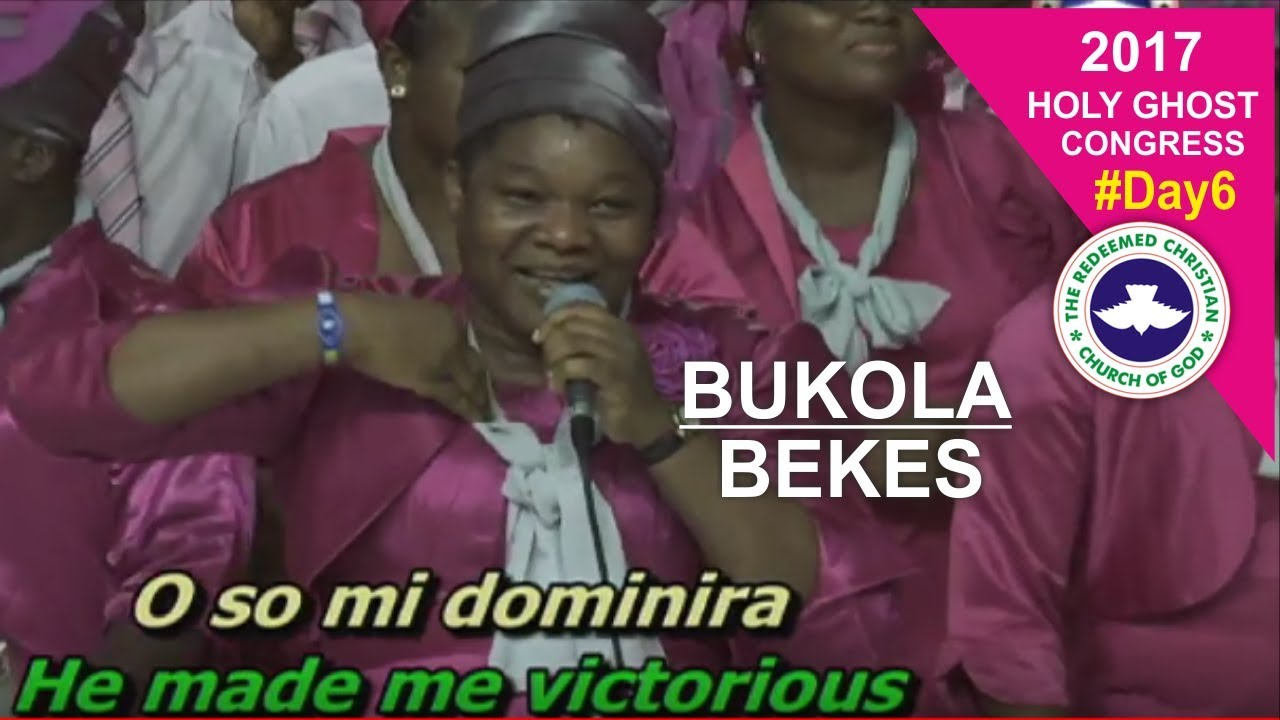 Bukola Bekes POWERFUL Ministration @ RCCG 2017 HOLY GHOST CONGRESS_ #Day6
